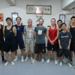 At Sifu Ng Chun Hong school in hong kong in 2011