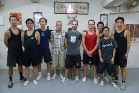At Sifu Ng Chun Hong school in hong kong in 2011