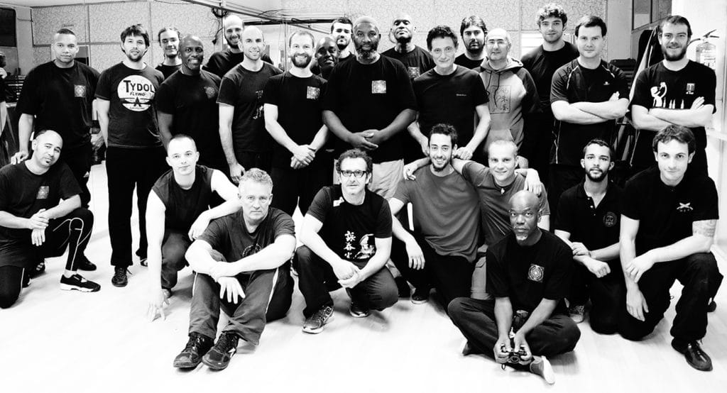 A seminar with Wing Chun Barcelona by Sifu Michael Louison