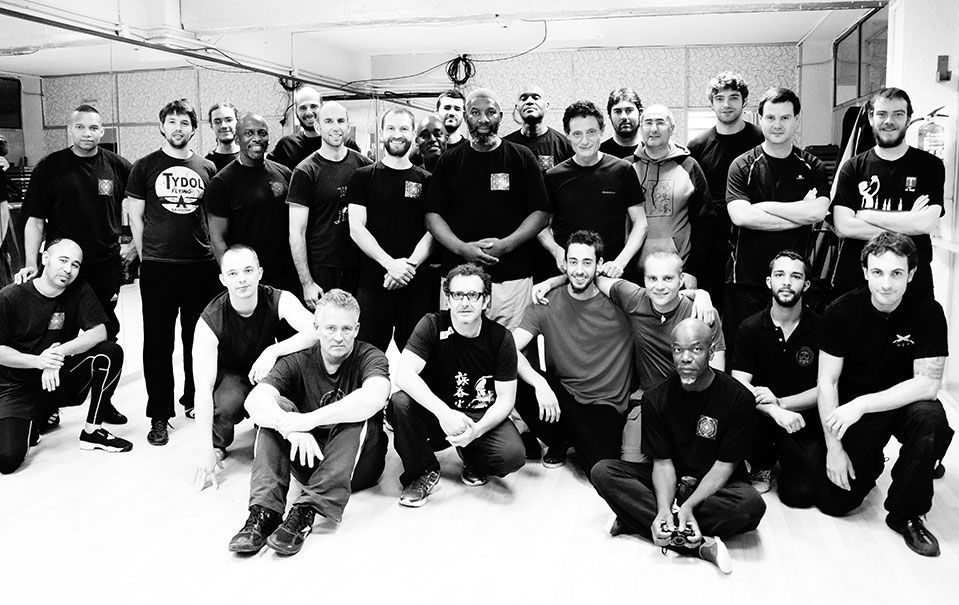 Kung Fu Seminar group shot